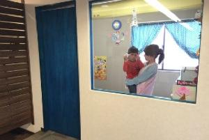 託児室外観写真